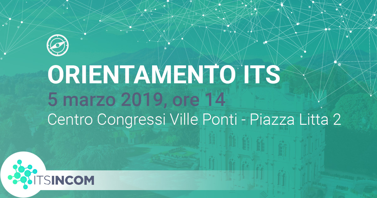 ITS Incom alle Ville Ponti con CAMCOM Varese
