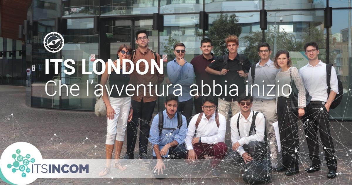 ITS Incom - Arrivo a Londra