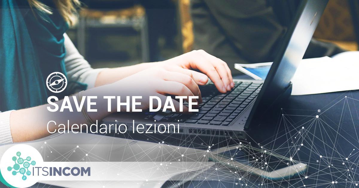 calendario lezioni 2019 2020